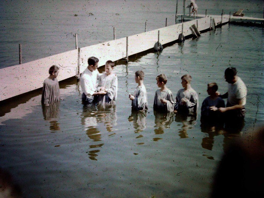 My baptism